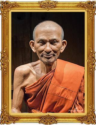 Le vénérable moine Luang Phor Suk
