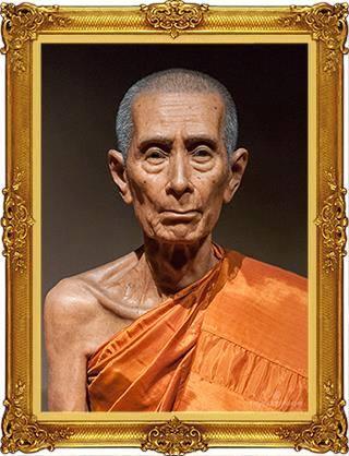 Le vénérable moine Luang Phor Toh