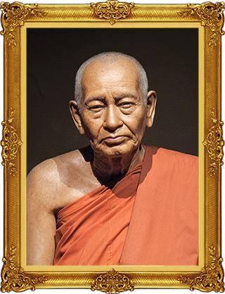 Le vénérable moine Phra Dhammayanmuni