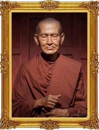 Le vénérable moine Somdej Toh