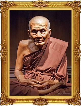 Le vénérable moine Luang Pu Thua