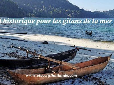 Accord historique pour les gitans de la mer (Moken)